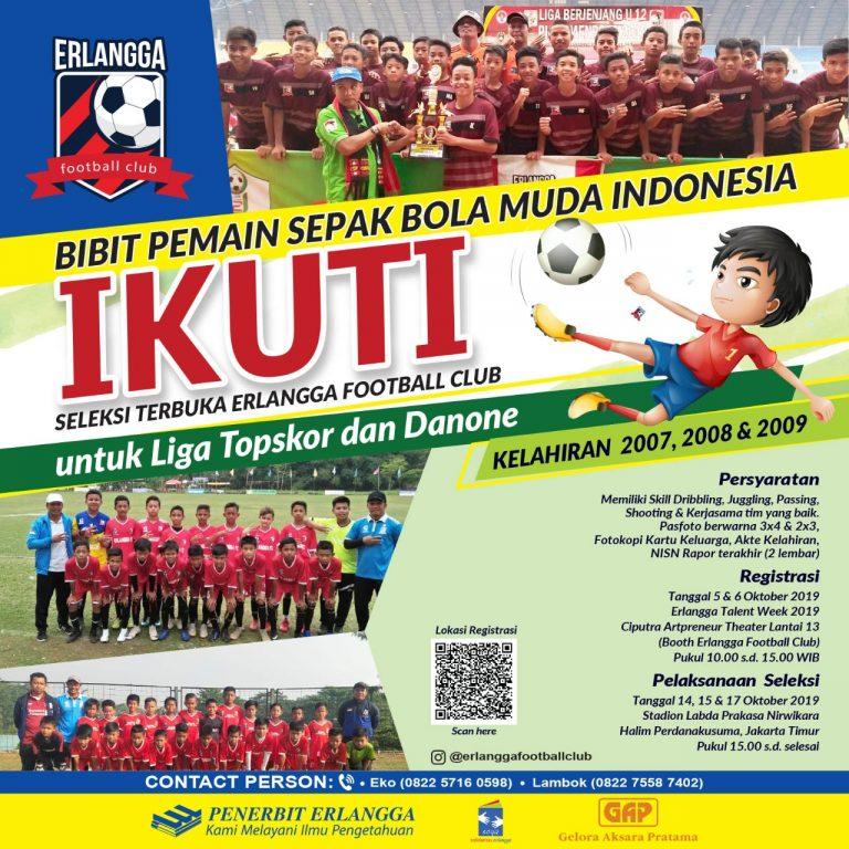 Seleksi Terbuka Erlangga Football Club