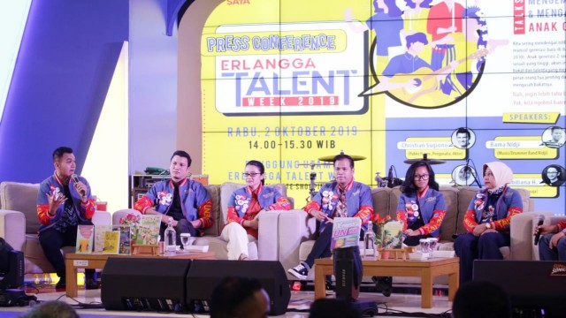 Penerbit Erlangga Gelar Erlangga Talent Week