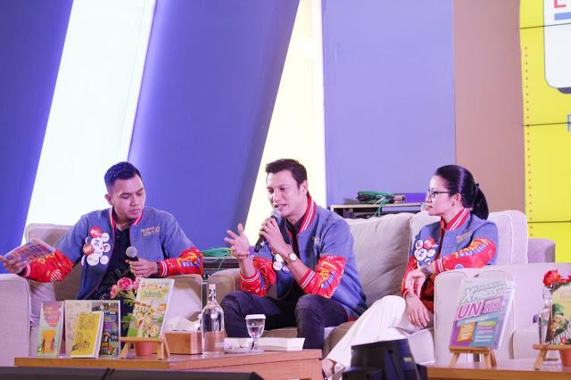 Christian Sugiono Ramaikan Erlangga Talent Week 2019. Lomba Akbar 15.000 Peserta