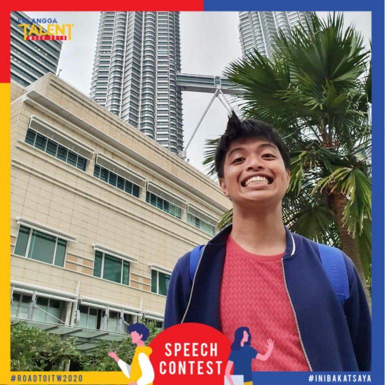 Aditya Manggala Pemenang EESC 2019 Jenjang SMA